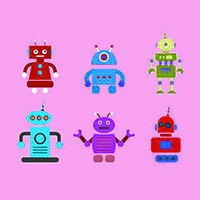 Vectoriel Robots